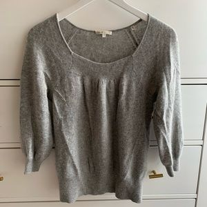 Vince light grey cashmere sweater (s)